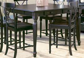 High Top Dining Table With Storage Counter Height Table With Bench Best Quality 6 Pc Espresso Finish