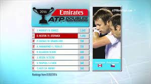 emirates atp doubles team rankings 2 february 2016