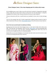 Shree Designer Saree Shree Designer Saree By Jasminrope1 Issuu