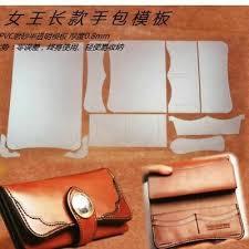 diy leather wallet pattern