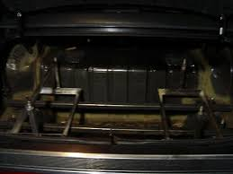 complete f b s s hydraulic install in a car eternal rollerz c c the battery trays are made from strong angle iron and feature a bar to hold the batteries in place the trays are made outside the car and then placed in