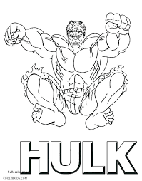 Incredible Hulk Coloring Pages Inspirational Hulk Color Pages