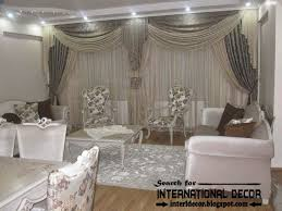 living room modern curtain ideas with elegant and stylish contemporary grey curtain designs for living room 2017