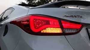 2011 Hyundai Sonata Rear Lights Elentra Light Bar Type Tail Light