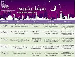 Diet Plan For Ramazan Moomal Asif Ainy Cooks