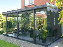 patio ideas modern enclosed patio with glass walls enclosed patio ideas pictures small enclosed patio