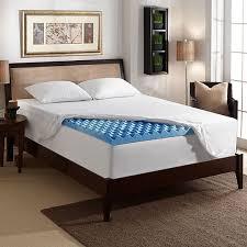 memory foam bed topper. 3-inch Gel Memory Foam Mattress Topper With Air Channels Memory Foam Bed Topper