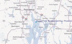 Nayatt Point Narragansett Bay Rhode Island Tide Station
