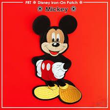 Miếng dán ủi hình chuột Mickey dùng trang trí quần áo kích thước 15.4cm X  27cm chính hãng 46,999đ