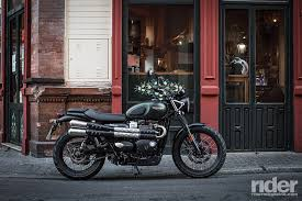 2017 triumph street scrambler ride review rider magazine