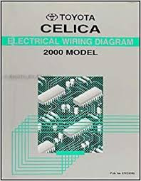 2000 toyota celica wiring diagram manual original toyota amazon 2000 toyota celica wiring diagram manual original toyota amazon com books