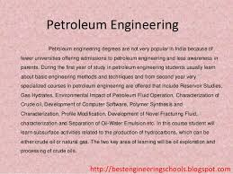 petroleum engineering colleges engineering