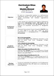 Template Best Photos Of Sample Curriculum Vitae Template