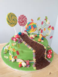 Charlie And The Chocolate Factory Chocolate River Cake Sweet