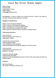 Driver Duties Resume Stunning Bus Driver Resume To Gain The Serious Bus Driver Job 16