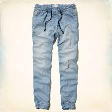 Hollister Size Chart Guys Guys Hollister Denim Jogger Pants Guys Jeans Bottoms