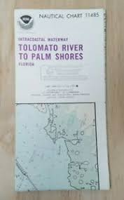 Details About Noaa Nautical Chart 11485 Tolomato River To Palm Shores