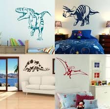 image is loading dinosaur wall stickers boys dino bedroom art lads  on dinosaur bedroom wall stickers with dinosaur wall stickers boys dino bedroom art lads room decal