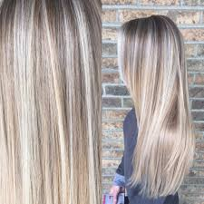 Baby Light Balayage Painted Hair Ombre Baby Light Balayage Blonde Hair