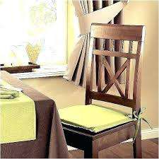 chair cushions with ties alluring kitchen chair cushions of cushion ties pads with best dining