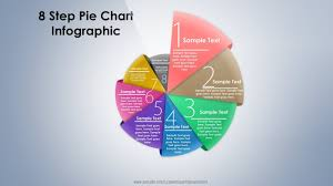 10 Create 8 Step 3d Pie Chart Infographic Powerpoint Presentation Graphic Design Free Template