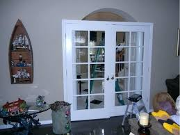 interior door transom charming french doors with a stained glass over the dou