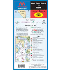 Waterproof Charts Florida Florida West Palm Beach To Miami Waterproof Chart 3rd Edition 2016