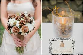 Pine Cone Wedding Table Decorations Southern California Pine Cone Wedding Inspired By This