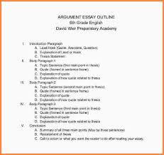 argumentative essay outline format jembatan timbang co argumentative essay outline format