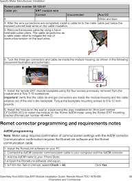 500gr amr transceiver device for utility meters user manual page 62 of 500gr amr transceiver device for utility meters user manual installation guide itron inc