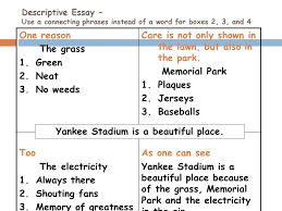 powerpoint created by edmond public schools ppt  yankee stadium is a beautiful place