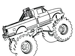 Construction Truck Coloring Pages Unique Monster Truck Coloring