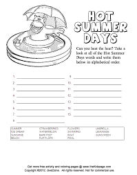 Small Picture Hot Summer Coloring Pages Coloring Pages