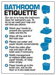 office bathroom rules.  Rules Toilet Etiquette  Google Search With Office Bathroom Rules Pinterest