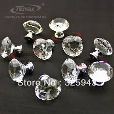 clear glass cabinet knobs. Powder Room Cabinet Handles 30mm Zinc Alloy Clear Crystal Sparkle Glass Kitchen Knobs Dresser Cupboard Door Knob Pulls US $15.28 R