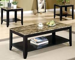 coffee and end table set marble top coffee table coffee table sets