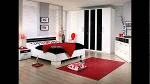Black Red White Bedroom Ideas 2