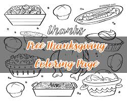 Small Picture Free Printable Thanksgiving Feast Coloring Page PIXELPLEATPIXELPLEAT
