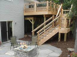 deck stairs and steps