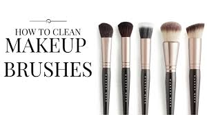 the easiest quickest way to clean makeup brushes chloe boucher