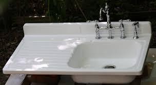 vintage style kitchen drainboard sinks retro renovation simple