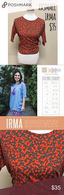 Lularoe Irma Xxs Size Chart In Photos Lularoe Irma Xxs Size