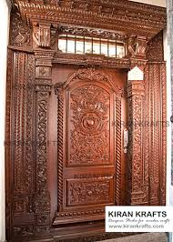 Wooden door designing Panel Main Door Wooden Doors By Kiran Enterprises Homify 10 Beautiful Door Designs For Traditional Indian Welcome