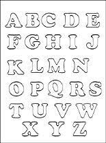 Letters En Cijfers Gratis Kleurplaten