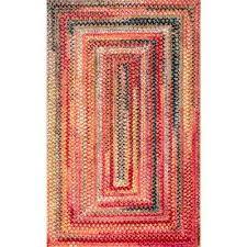 hargis labyrinth rust 8 ft x 10 ft area rug