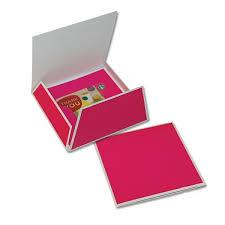 Gift Card Envelope Folders Keyline Fuchsia 100 Per Case