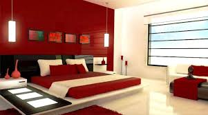 red bedroom color ideas.