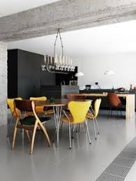 what a pretty dining room and kitchen area the mix of grays with the pop dining room inspirationinterior design inspirationhome