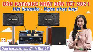 Dàn karaoke gia đình BIK 15 giá rẻ, Loa Nhật, amply Nhật hiện đại nhất  2020, loa sub bksound bass 30 - YouTube