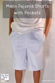 Pajama Shorts Pattern Simple Design Inspiration